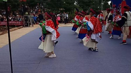 2018年8月7日寻甸县六哨乡彝族传统立秋节暨文化旅游节(布葛纳)