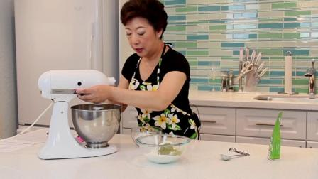 以煮为乐:绿茶英式牛油曲奇  Green Tea Shortbread