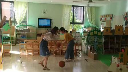 老师拍球操