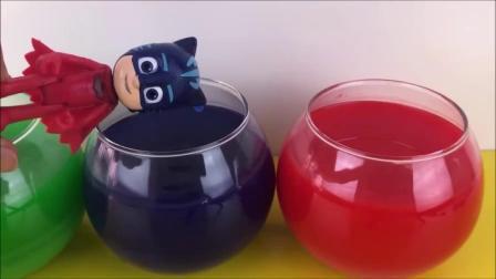 亲子:睡衣小英雄玩具 儿童趣味认识颜色拼装玩具