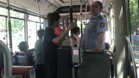 北京公交674路 东直门北小街北口—和平里南口 出站 报站【北京公交报站】