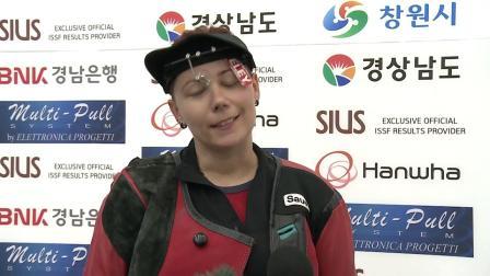 ISSF国际射联昌原世锦赛-采访佩季奇