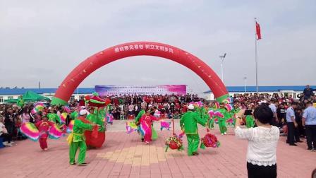 内蒙古自治区通辽市科尔沁左翼后旗散都苏木呼勃嘎查秧歌队散都苏木比赛视频