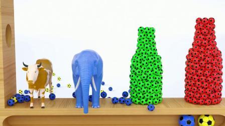 魔术足球豆游戏 认识颜色 学习英语 婴幼儿早教益智动画英语启蒙