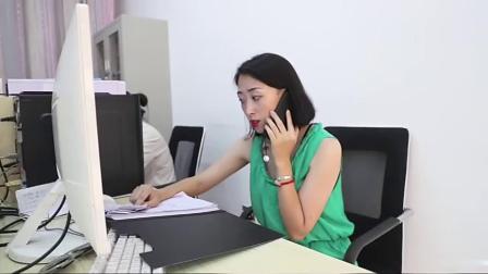 农村小伙接到诈骗电话,竟然直接说英语,把女骗子整懵了搞笑视频