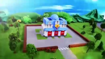 """亲子:这广告我怎么没看过,消防车为了救火变身""""变形金刚""""了"""