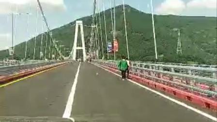 2018 09 12 连接郡第三座大桥<鹭梁大桥>开通。音乐:玉珠贤 <连理枝>