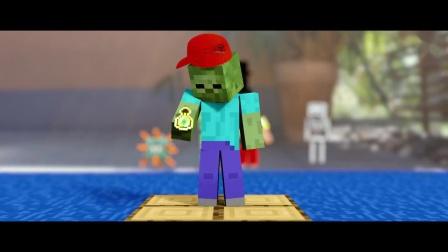 我的世界动画-怪物学院-鲨鱼-TiKo Films