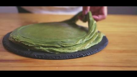 不用烤箱,教你在家做出星巴克最火爆的千层蛋糕,有个平底锅就行