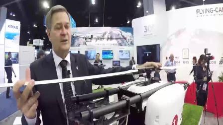 2018 Flying-cam在AUVSI 美国国际无人机展会