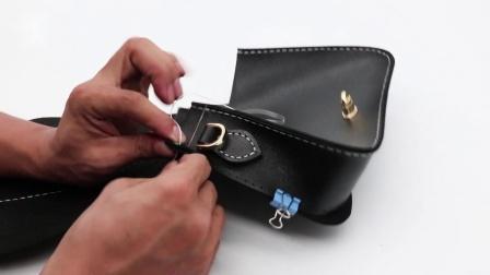 慢点丨大时代小方包L2061手工缝制教程