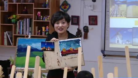 浙美版美術六上《色彩風景》課堂教學視頻實錄-吳靜波