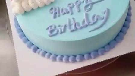 彩虹蛋糕教程