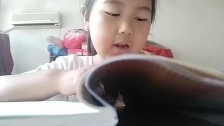 南义安小学二年级张佳淼朗读《场景歌》