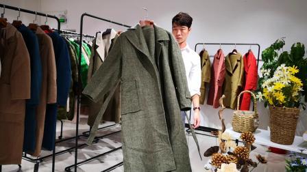 双面羊绒大衣