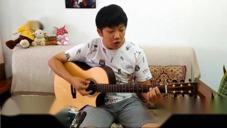 老男孩吉他弹唱  小鑫老师  声音很有冲击力! 长春指跃音乐私塾