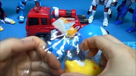 Tobot & Larva Doraemon  Larva Doraemon mini water gun to
