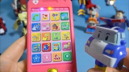 또봇  Robocar Poli Amber Smart phones & Tobot toys 스마