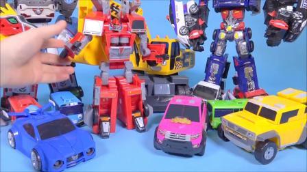 변신,  타요  MiniForce Carbot transforming car toys