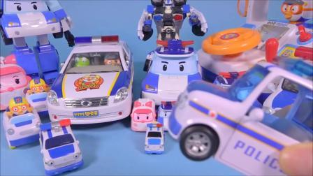 타요 패트 경찰차C 놀이  Tayo Police Cars,  Poli, Tob