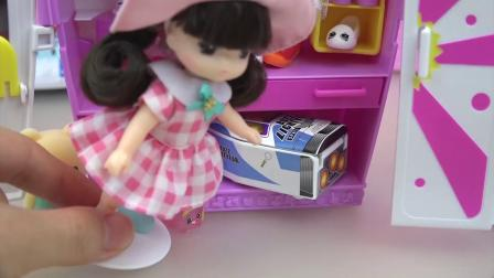 Baby doll car toy and close