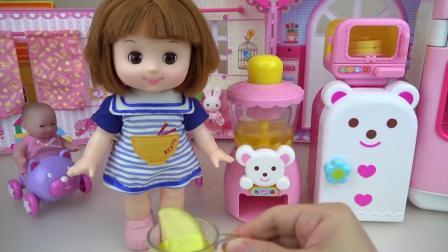 Baby Doll Caramel and fruit juice maker and ki