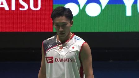 2018日本羽毛球公开赛男单决赛集锦