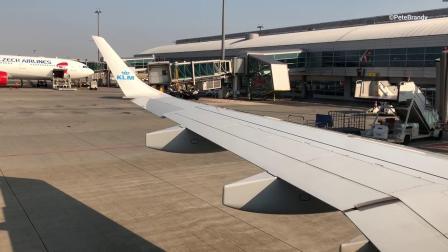 荷蘭航空・KL 1352(布拉格→阿姆斯特丹)經濟艙體驗 2018.9.15