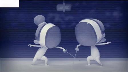 击剑运动的愤怒的一集动画设计