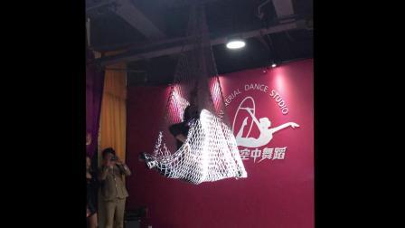 北京NV空中舞蹈开业庆典刘宁老师渔网表演
