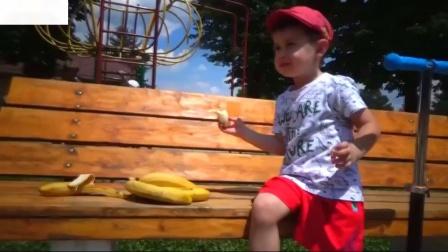 孩子和猴子约翰尼约翰尼婴儿歌曲音乐歌曲约翰尼约翰尼是爸爸