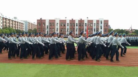 2018汉口学院阅兵典礼