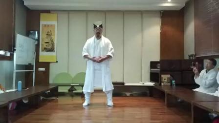 武当山师父的传统太极拳练法(陈理圣道长)