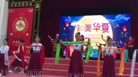 上海喜玛拉雅锅庄舞团,在百年大世界舞台上展演精彩片段(—)
