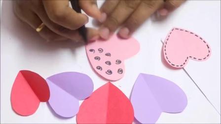 DIY手工祝福卡 教师节精心制作的礼物 老师会喜欢吗?
