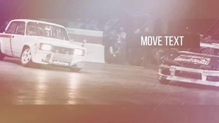 PR037  Pr模板-视频图片展示 户外运动体育赛事 栏