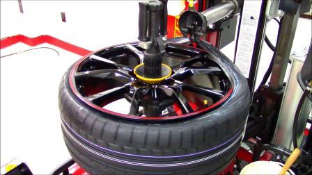 技术创新无撬棍全自动拆装轮胎只有科吉做得到,精湛鸟头特写