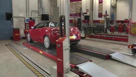 科吉Corchi-REMO四轮定位全过程,科吉坚持最好的汽车科技