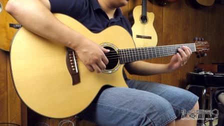 Sunami SJ 手工吉他评测试听 沁音原声