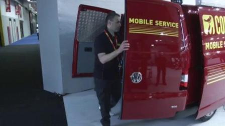 科吉 Corghi多功能移动服务车使用全过程,高效快捷