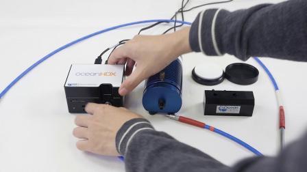 从入门到专家-Oceanview教程-反射(颜色)测量搭建及演示