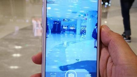 神奇的AR黑科技!北京恒泰广场AR鲨鱼群!!