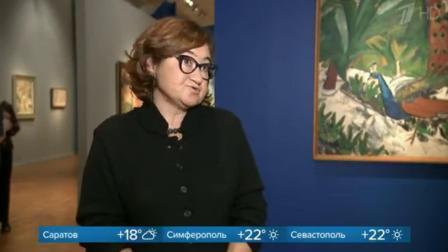 米哈伊尔·拉里奥诺夫的第一次大型回顾展在克里米亚半岛的特列季亚科夫画廊开幕