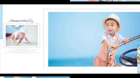 陈梓轩四岁十个月海边艺术照