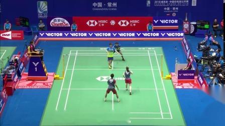 2018中国羽毛球公开赛 渡边勇大东野有纱VS阿玛德纳西尔