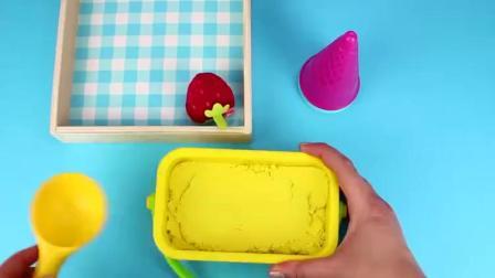 趣味小制作:做苹果桔子冰淇淋蛋筒
