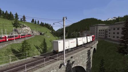 模拟火车2018 Bernina Pass