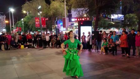 依萍万达广场印度舞表演  2018.9.21