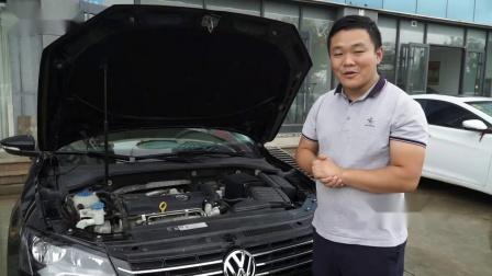 小刘评测精品帕萨特1.4T,二手车又保值又划算