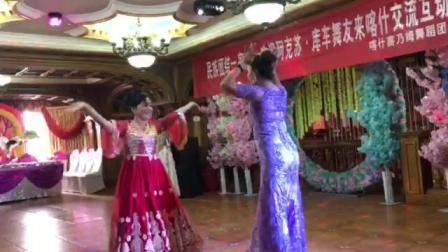 王玲老师新疆舞双人舞